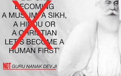 Guru Nanak didn't say this!