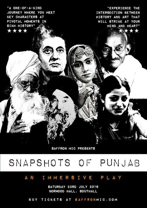 Snapshots of Punjab – Saffron Mic