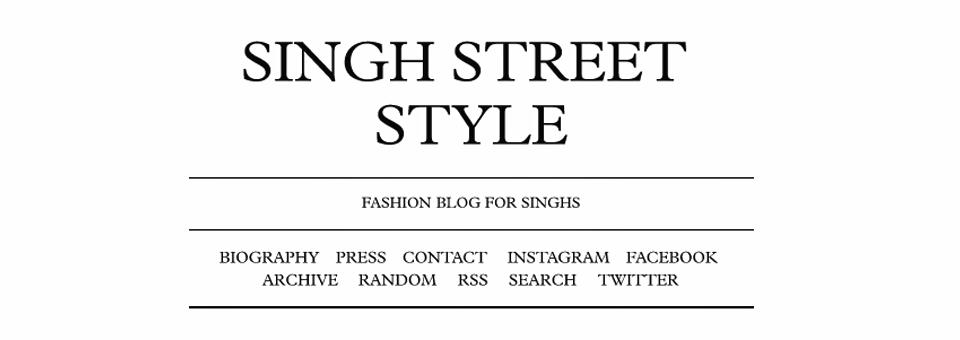 Style-heaven: Singh Street Style