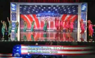 Bhangra is not an Indian dance