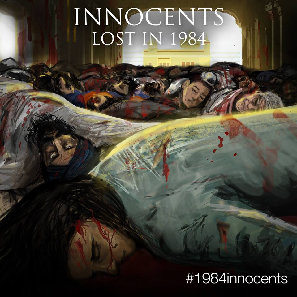 Innocents Lost in 1984 – Akaal Publishers