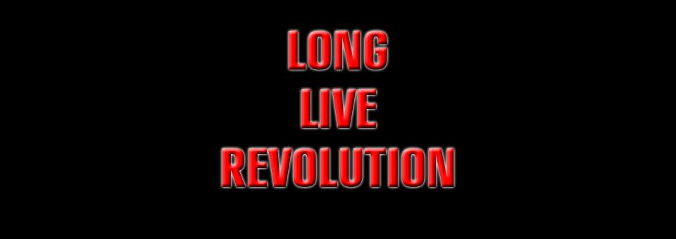 Revolution we need