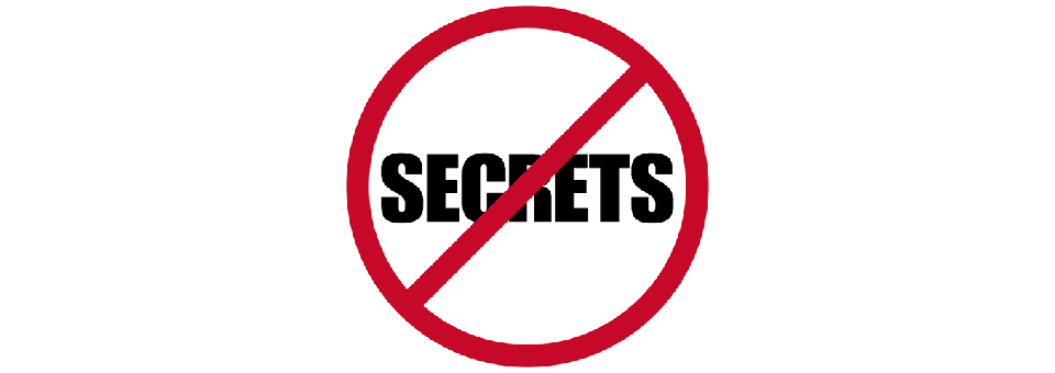 Reflection – Secrets = Self-Realisation