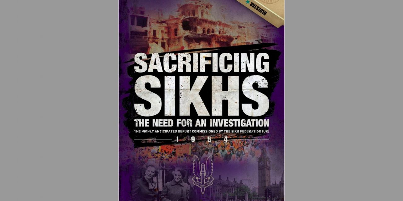'Sacrificing Sikhs' should herald an awakening