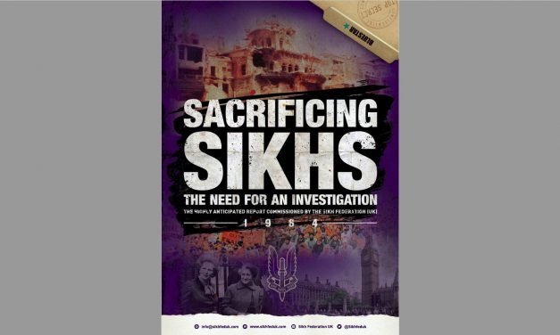 'Sacrificing Sikhs' should herald an awakening